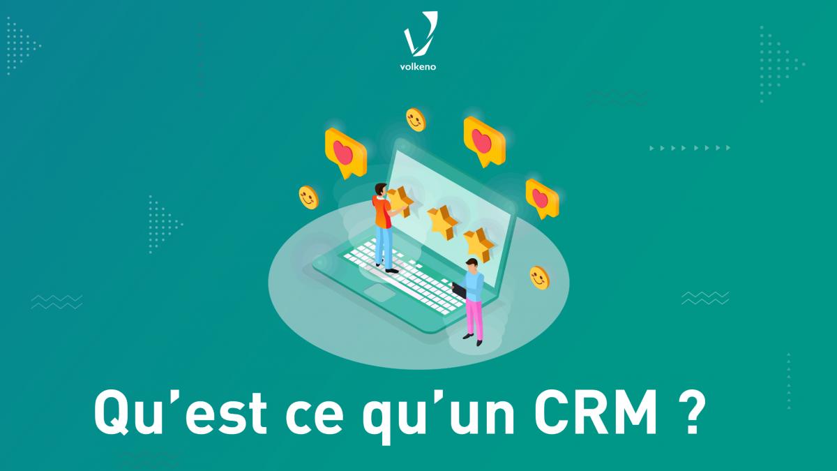 Image du CRM présenté pa Volkeno