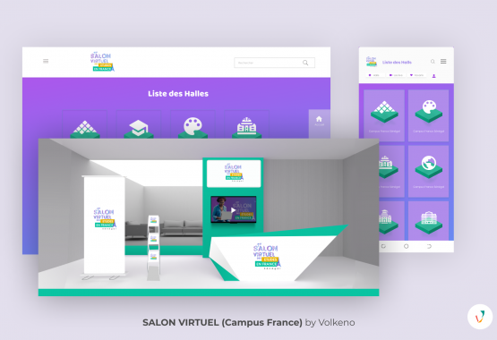 Salon virtuel Campus France