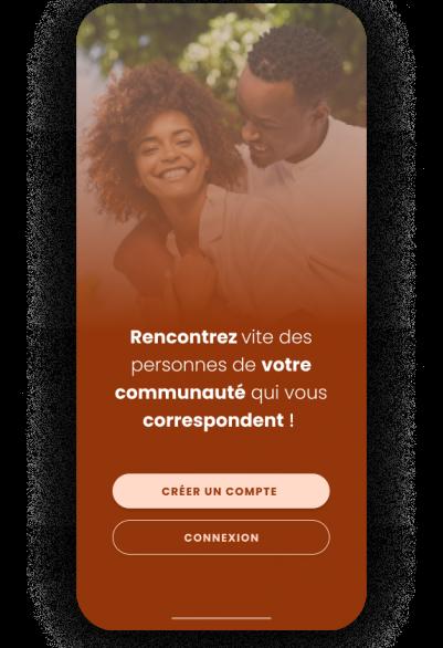 Dadjee Application mobile de rencontre mobile développé par Volkeno