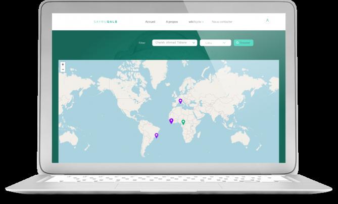 Sayruqalb Application web développée par LevelUp by Volkeno